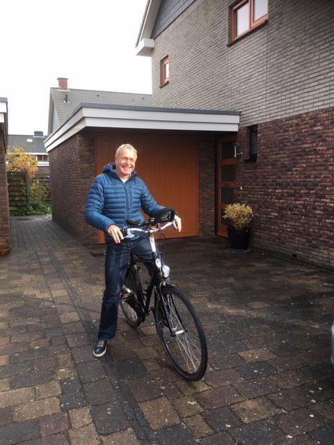 Evert fietste 125 kilometer langs 11 dorpen